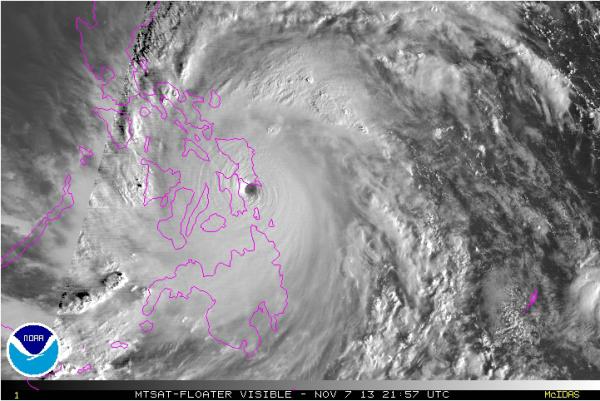 Super cyclone Haiyan